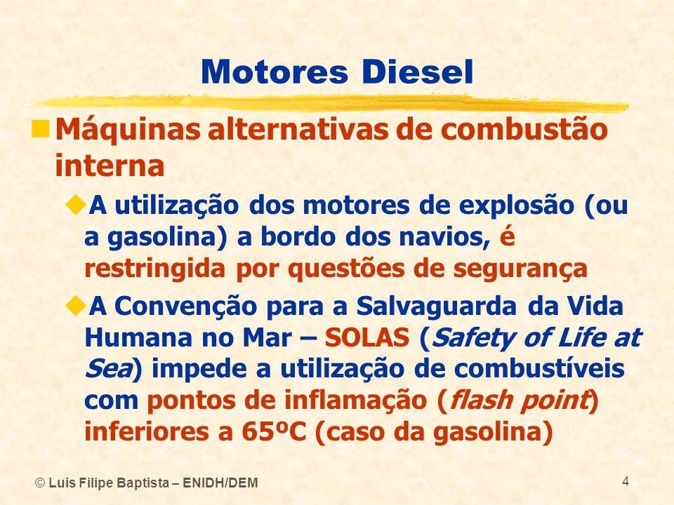 Motores Diesel Máquinas alternativas de combustão interna
