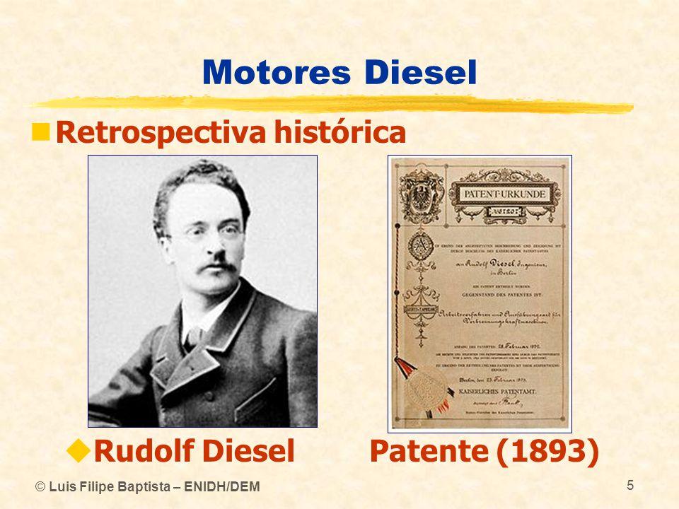 Motores Diesel Retrospectiva histórica Rudolf Diesel Patente (1893)