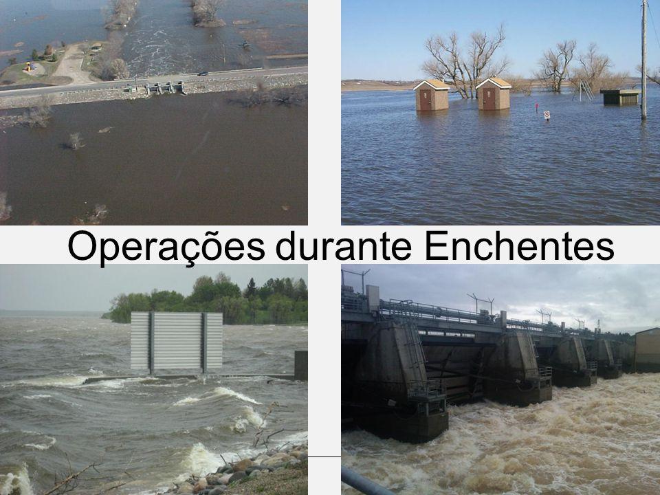 Operações durante Enchentes