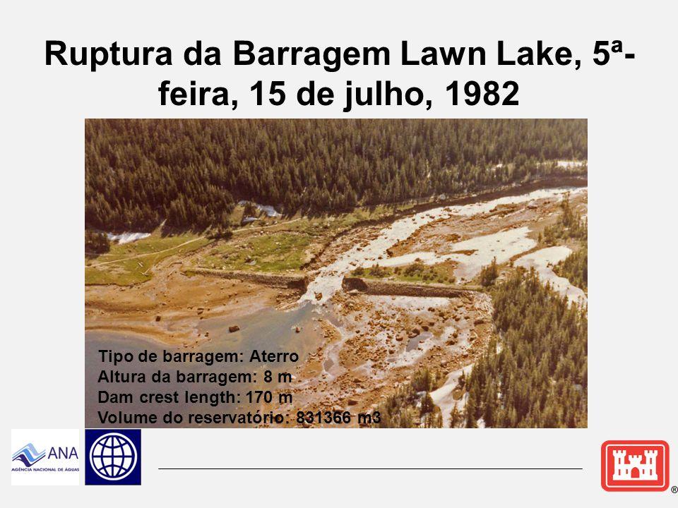 Ruptura da Barragem Lawn Lake, 5ª-feira, 15 de julho, 1982
