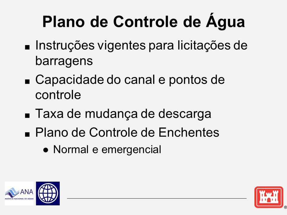 Plano de Controle de Água