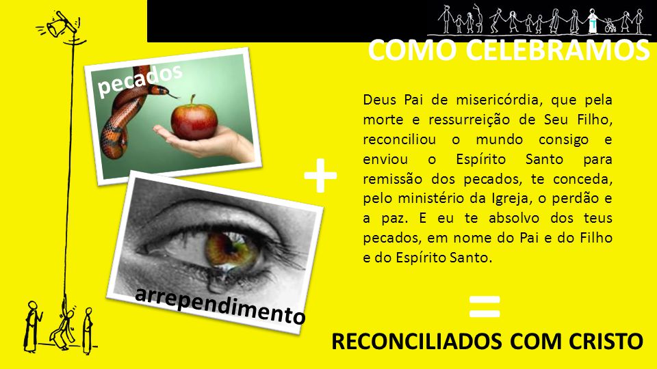 RECONCILIADOS COM CRISTO