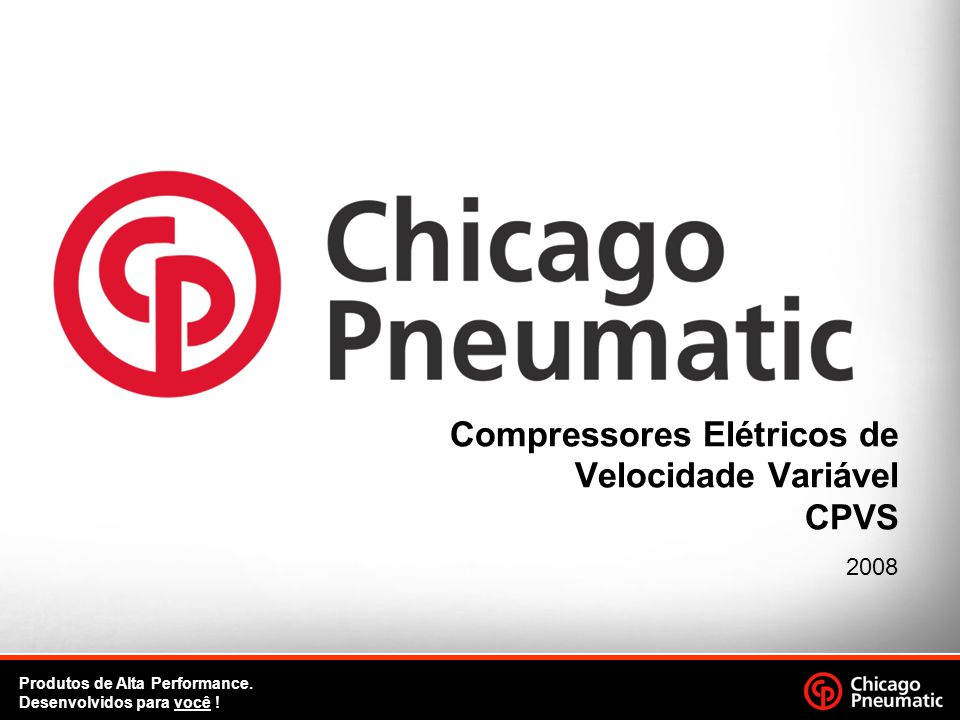 Compressores Elétricos de Velocidade Variável CPVS