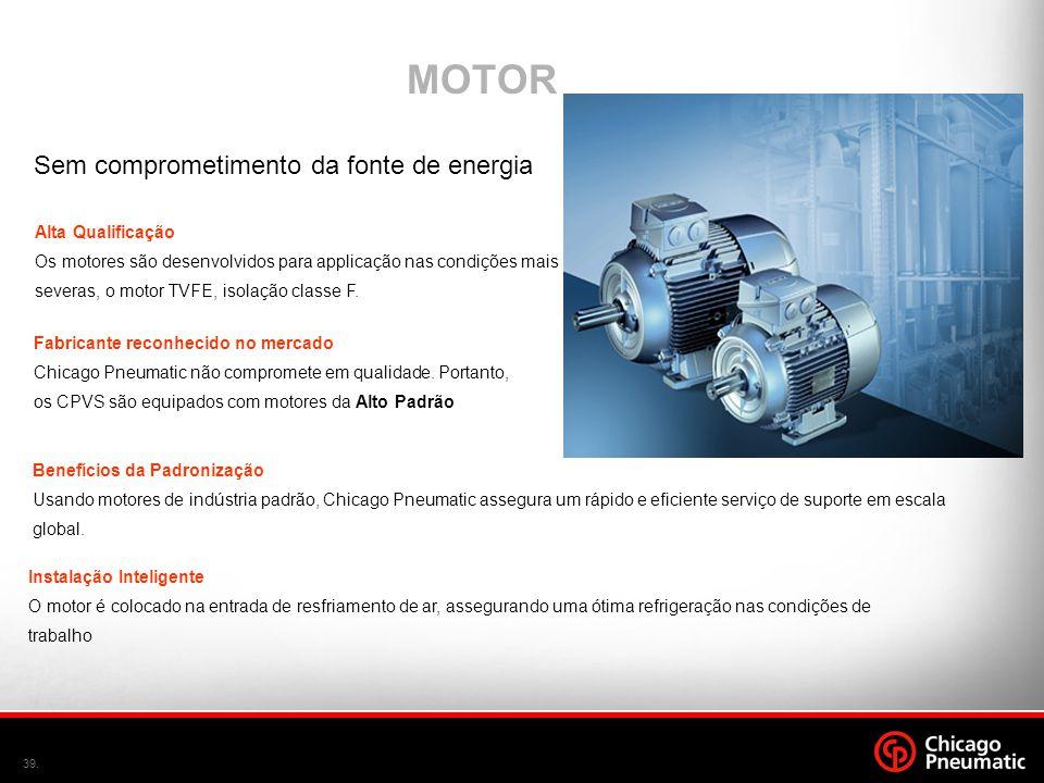 MOTOR Sem comprometimento da fonte de energia