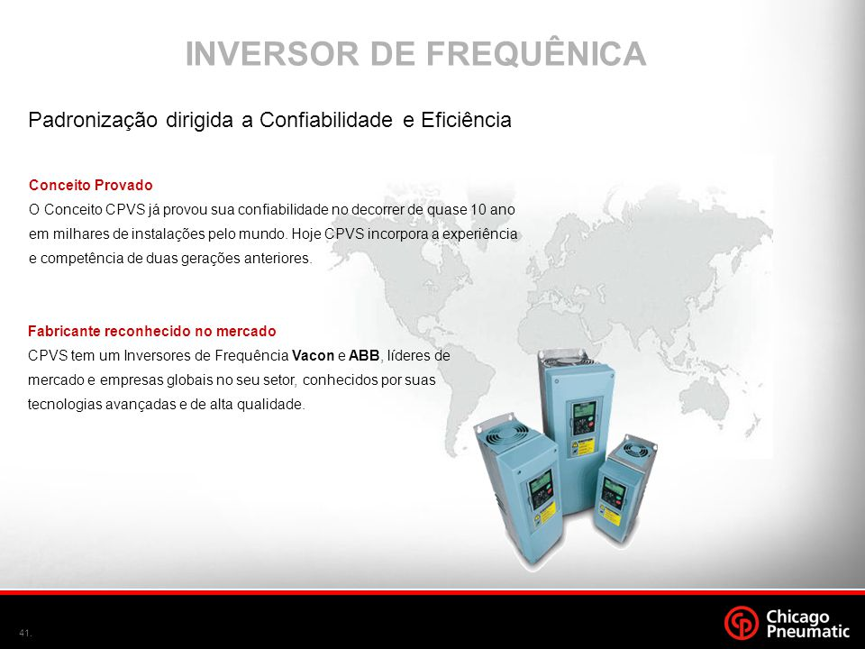 INVERSOR DE FREQUÊNICA