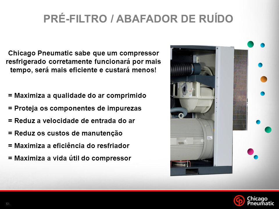 PRÉ-FILTRO / ABAFADOR DE RUÍDO