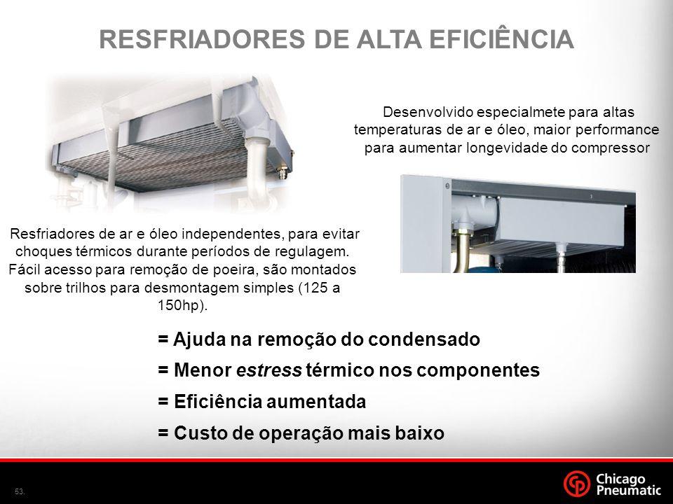 RESFRIADORES DE ALTA EFICIÊNCIA