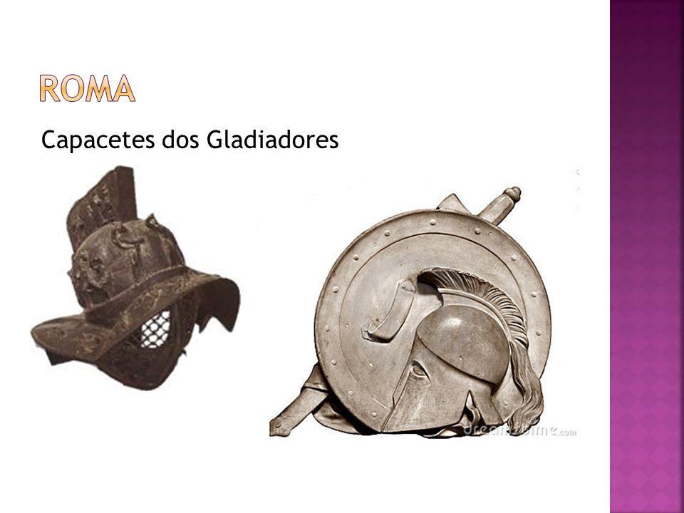 roma Capacetes dos Gladiadores