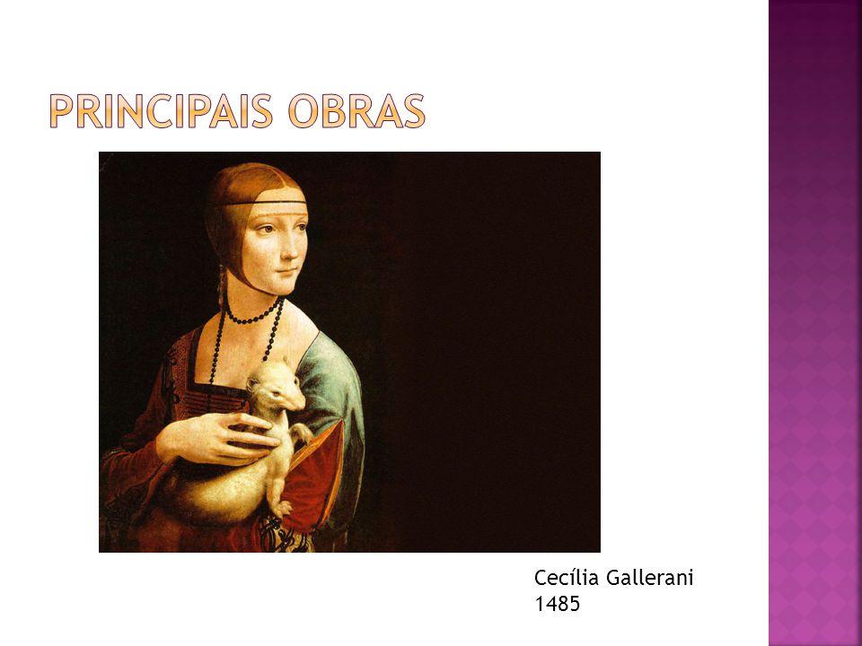 Principais obras Cecília Gallerani 1485