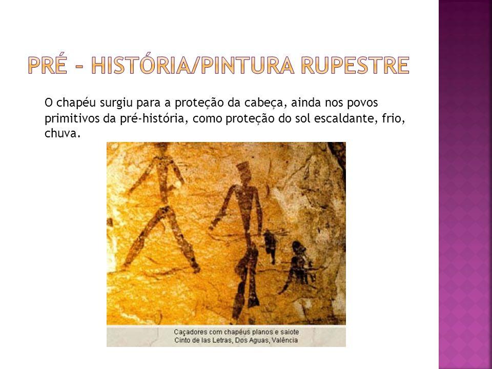 Pré – história/pintura rupestre