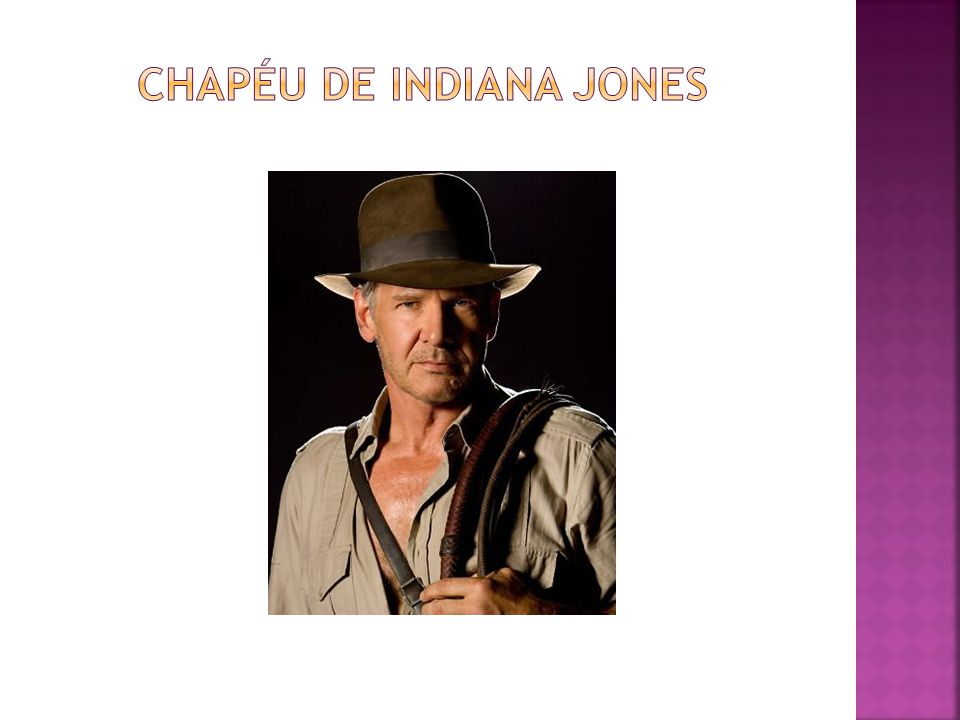 Chapéu de Indiana Jones