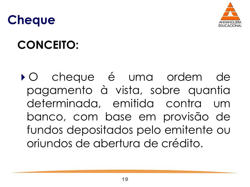 Cheque CONCEITO: