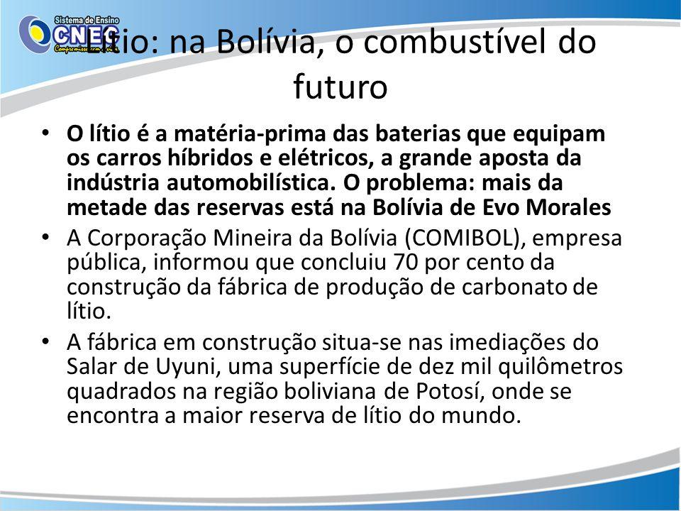 Lítio: na Bolívia, o combustível do futuro
