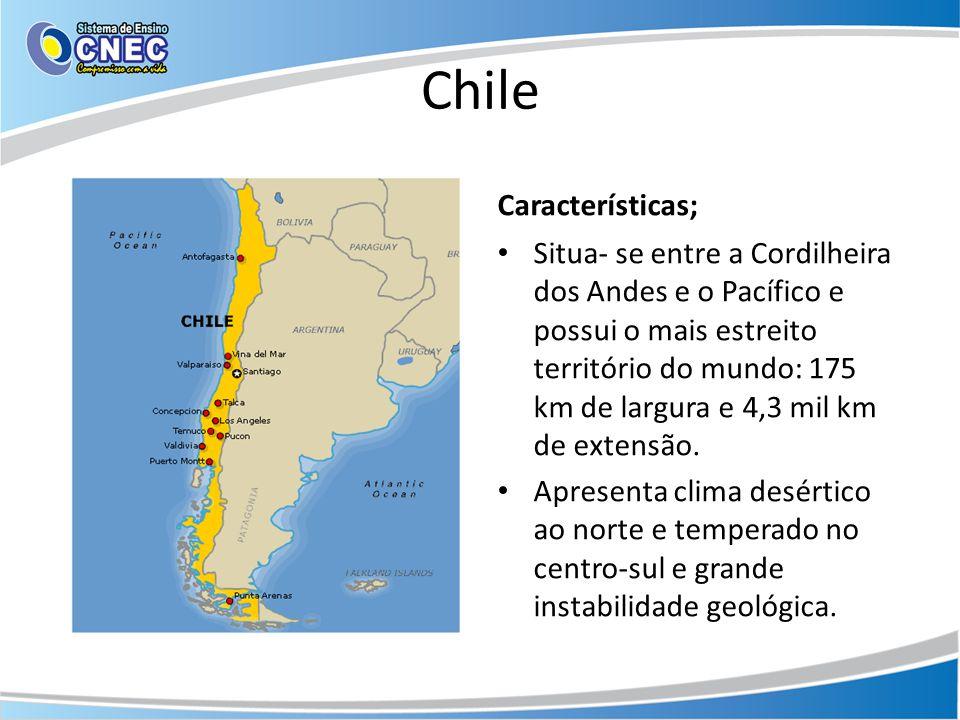Chile Características;