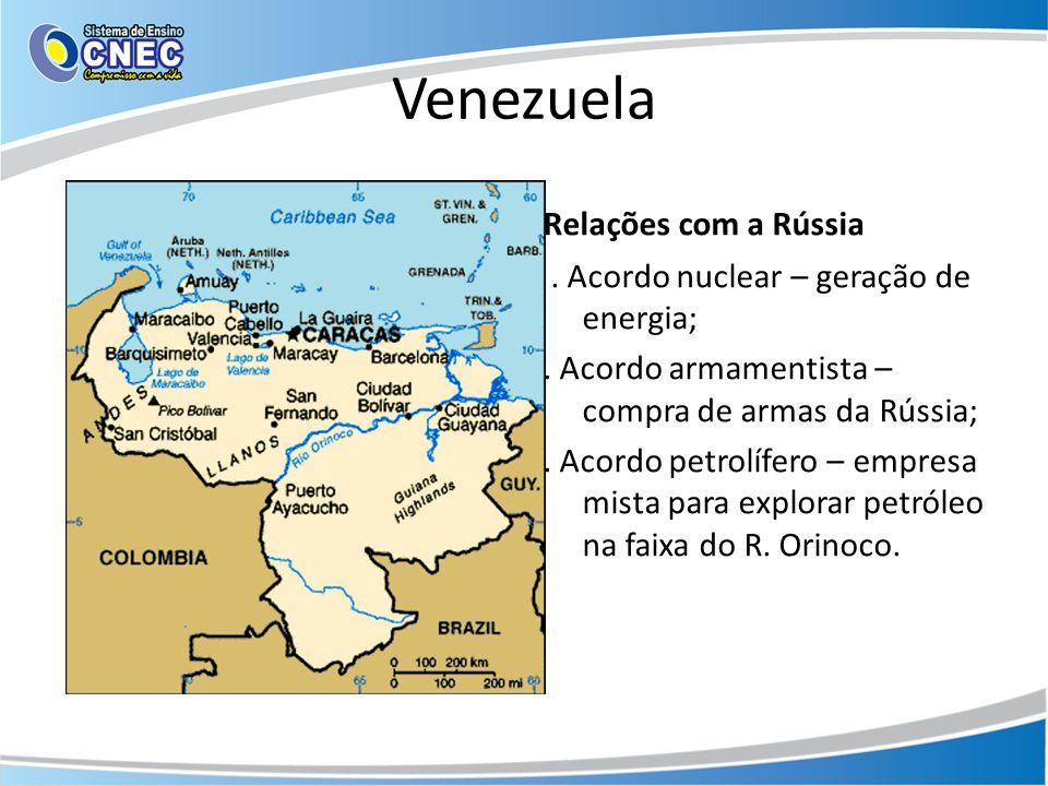 Venezuela Relações com a Rússia