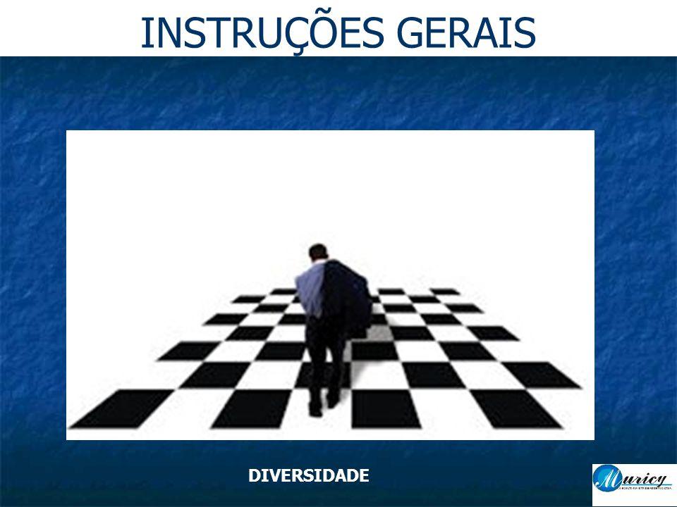 INSTRUÇÕES GERAIS DIVERSIDADE
