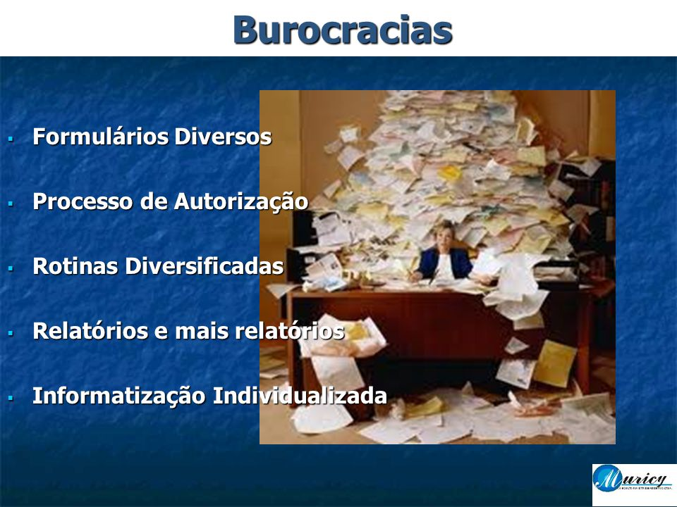 Burocracias Formulários Diversos Processo de Autorização