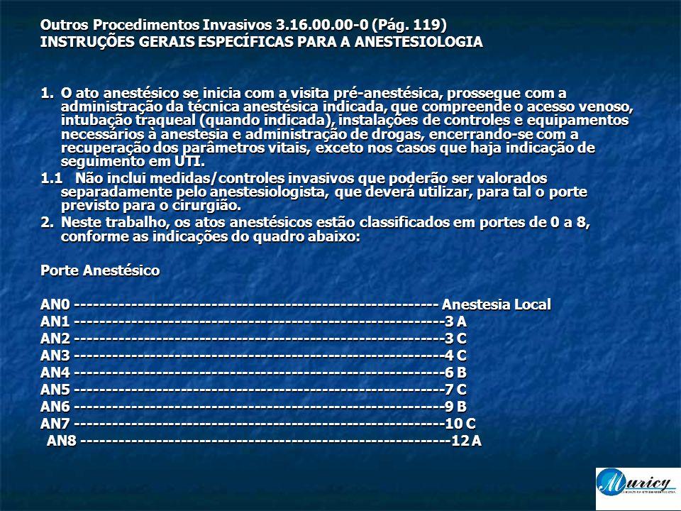 Outros Procedimentos Invasivos 3.16.00.00-0 (Pág. 119)