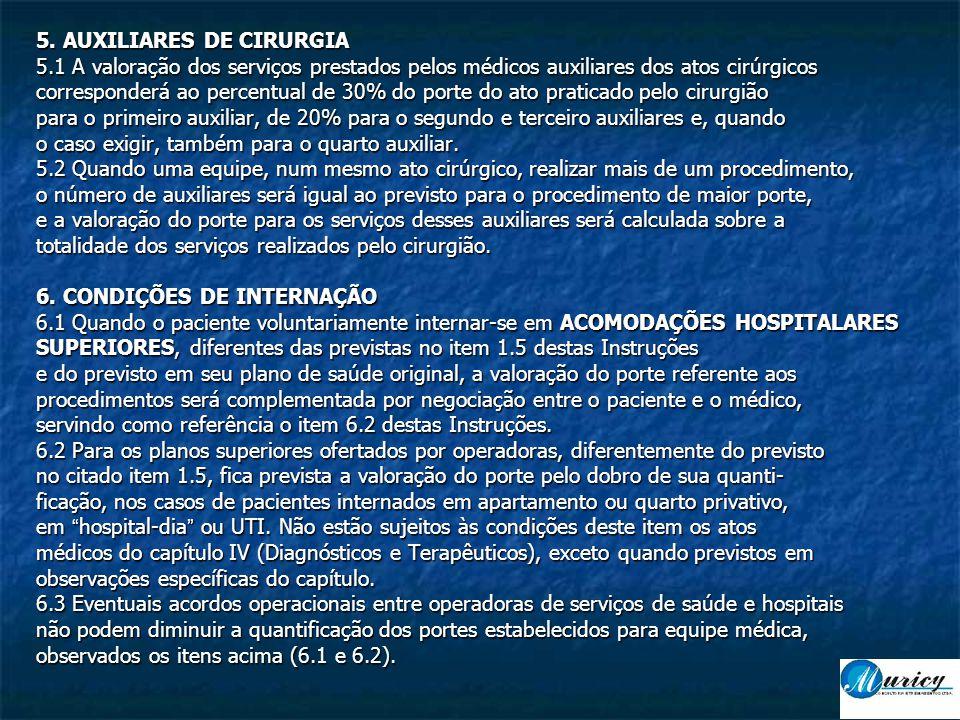 5. AUXILIARES DE CIRURGIA