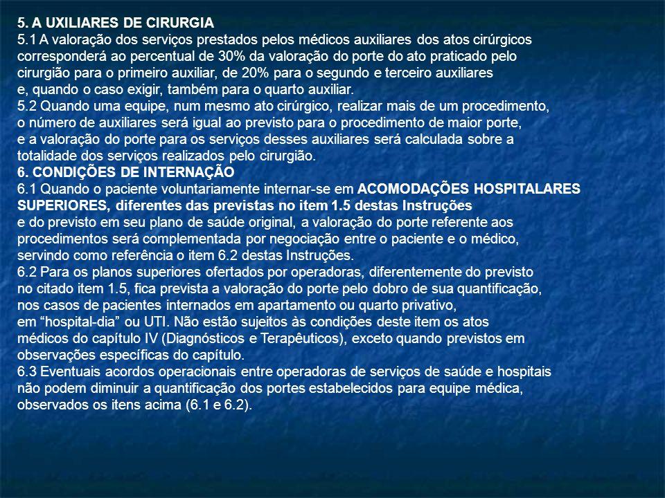 5. A UXILIARES DE CIRURGIA