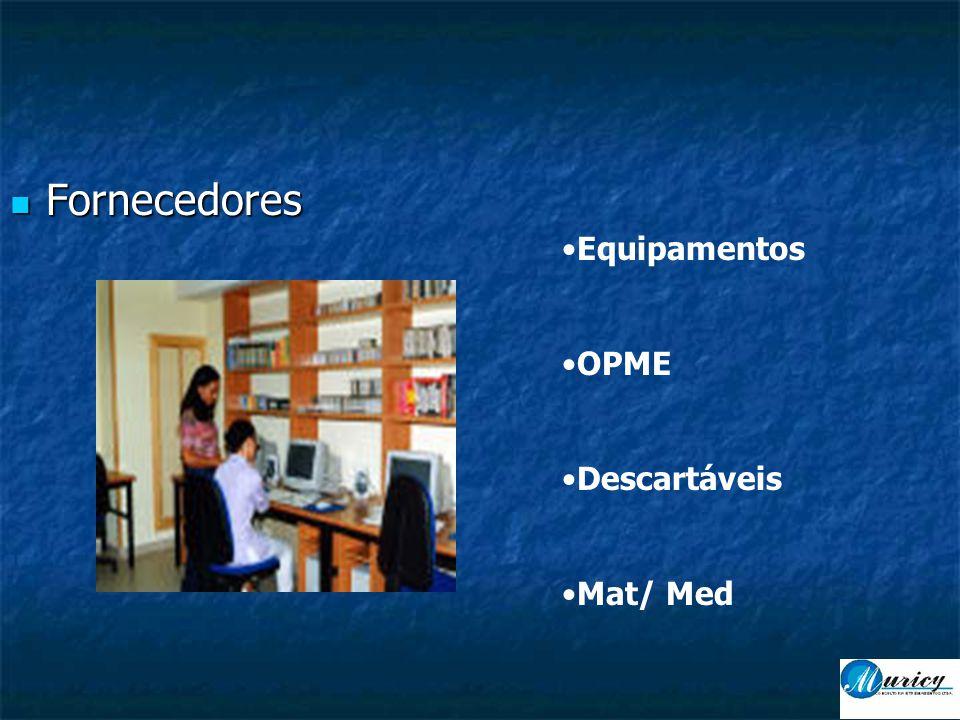 Fornecedores Equipamentos OPME Descartáveis Mat/ Med