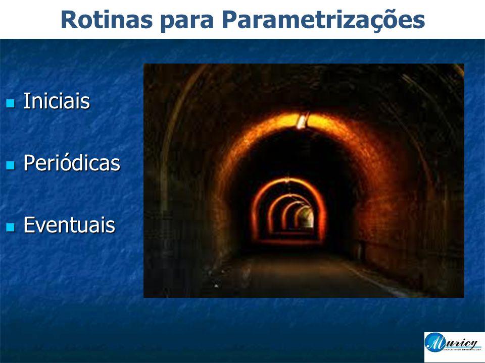 Rotinas para Parametrizações