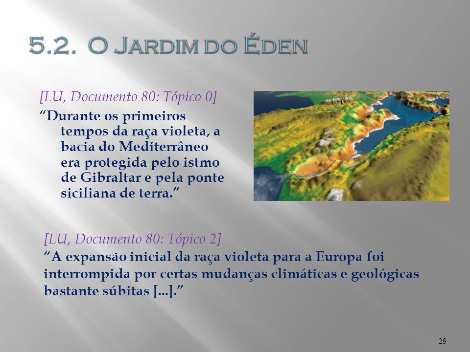 5.2. O Jardim do Éden