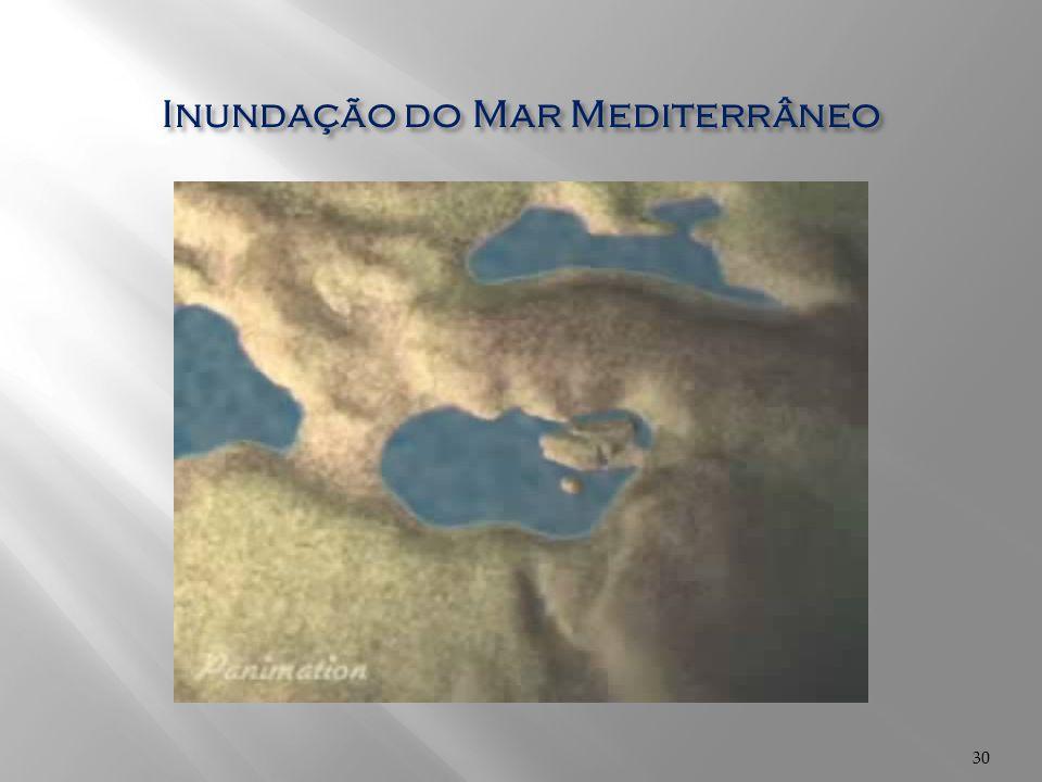 Inundação do Mar Mediterrâneo