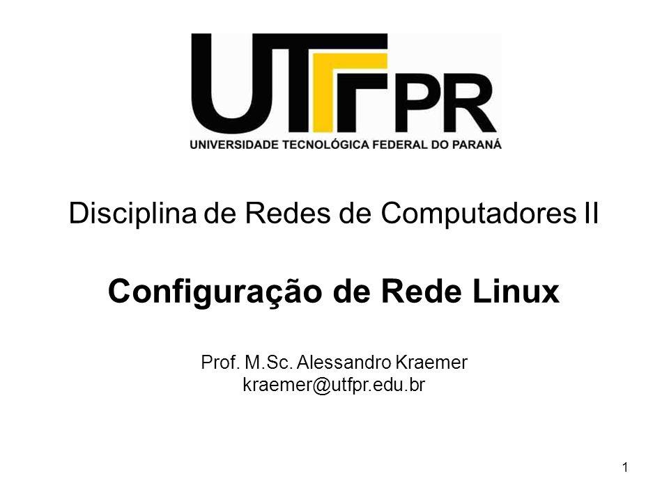 Configuração de Rede Linux