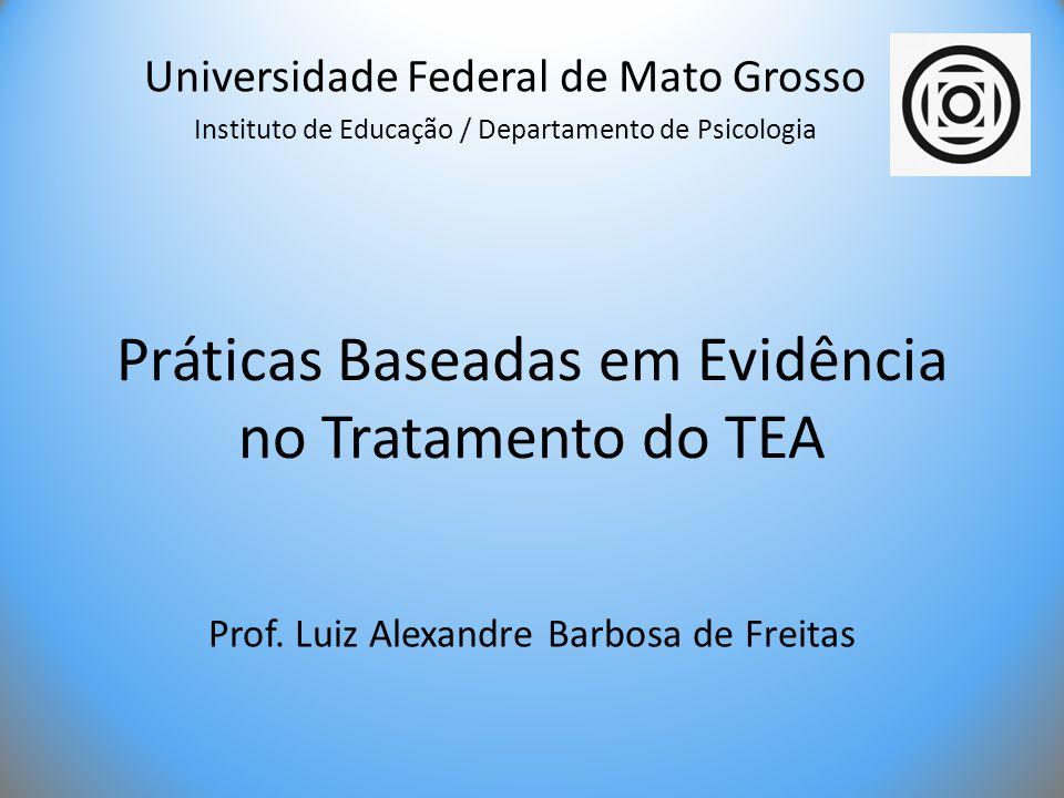 Práticas Baseadas em Evidência no Tratamento do TEA