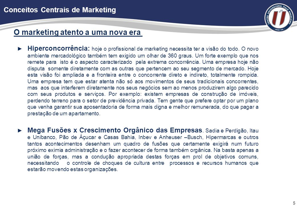 Definitivamente: o que é Marketing