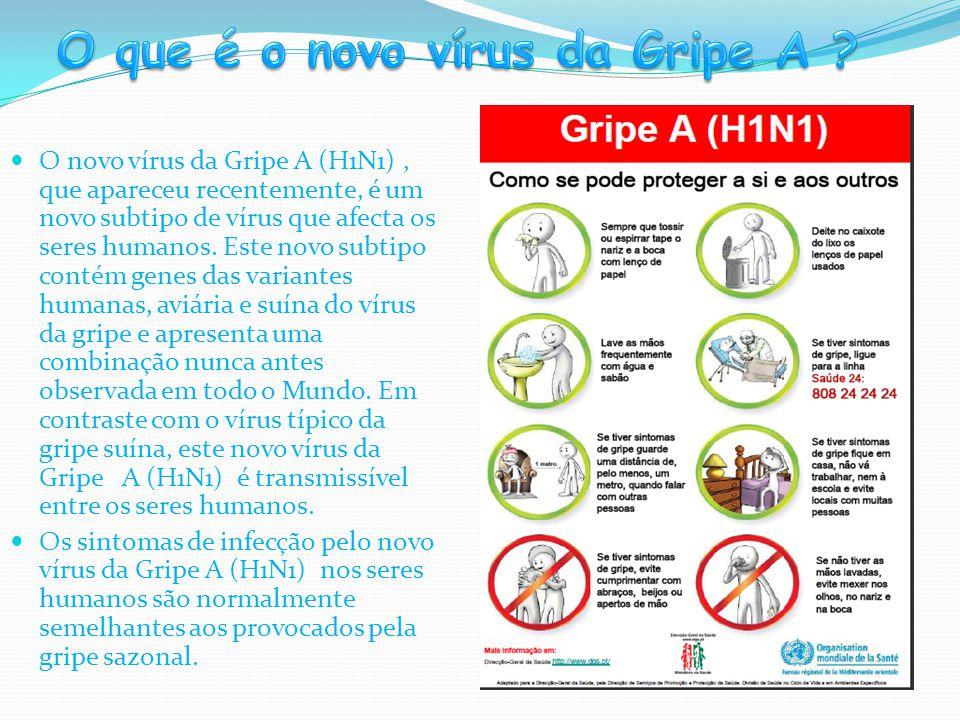 O que é o novo vírus da Gripe A