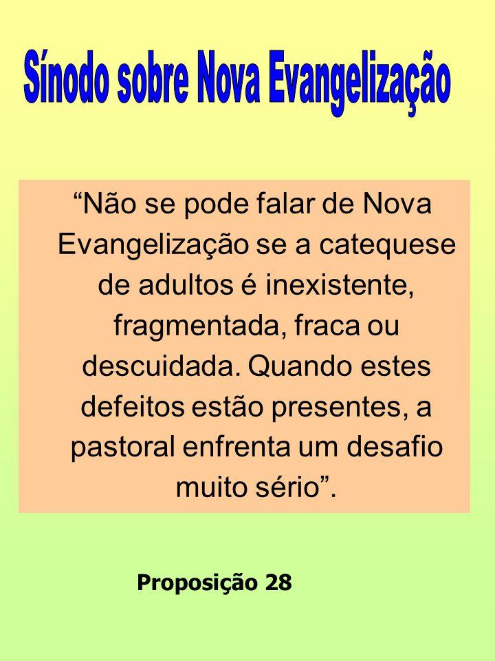 Sínodo sobre Nova Evangelização