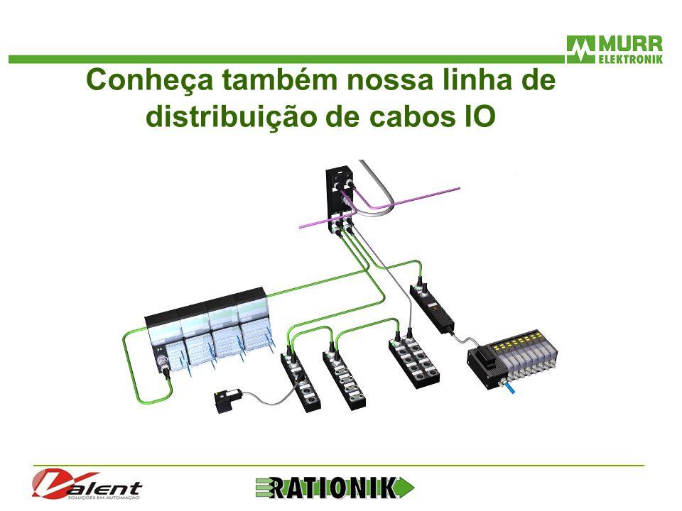 Conheça também nossa linha de distribuição de cabos IO