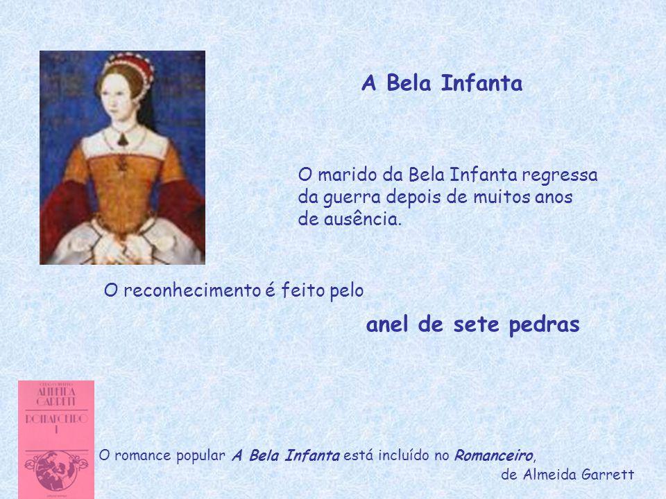 A Bela Infanta anel de sete pedras O marido da Bela Infanta regressa