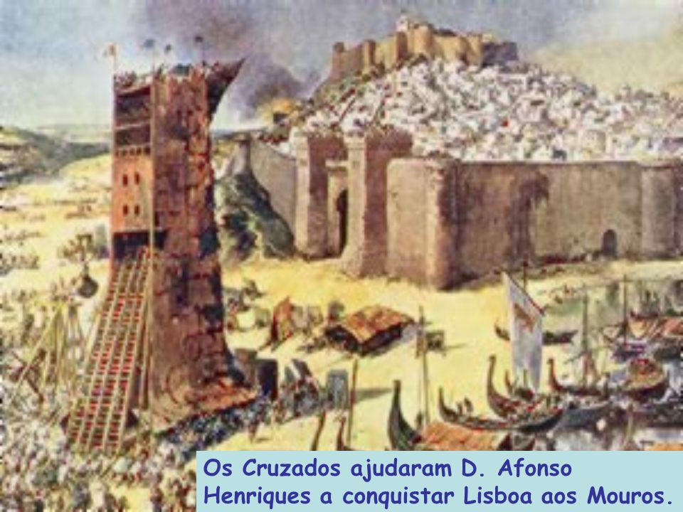 Os Cruzados ajudaram D. Afonso