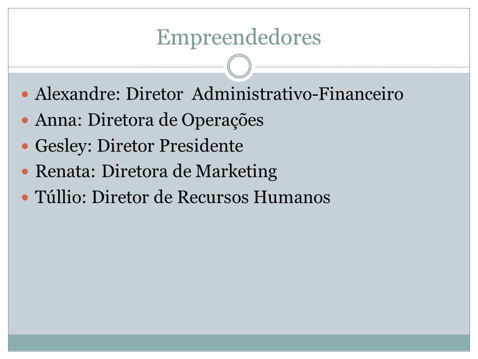 Empreendedores Alexandre: Diretor Administrativo-Financeiro