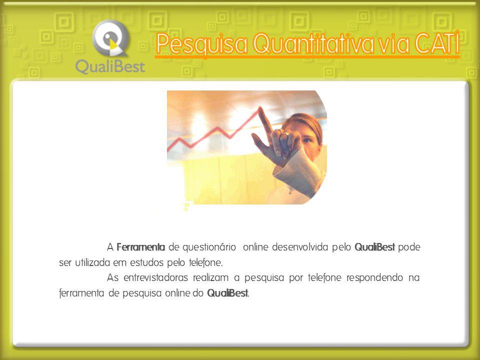 Pesquisa Quantitativa via CATI