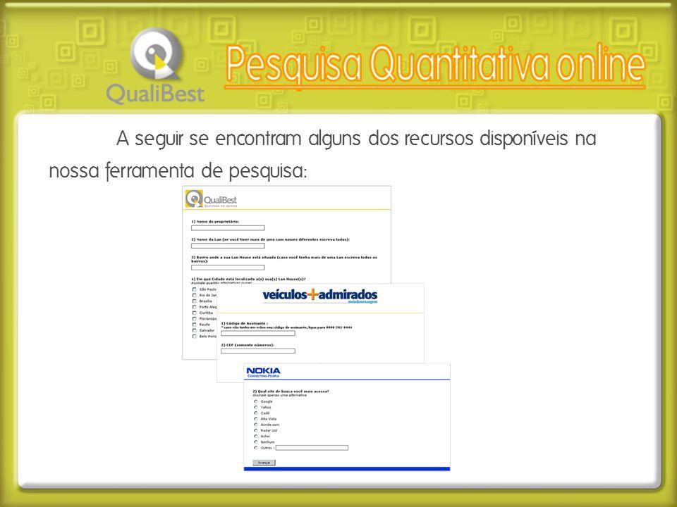Pesquisa Quantitativa online