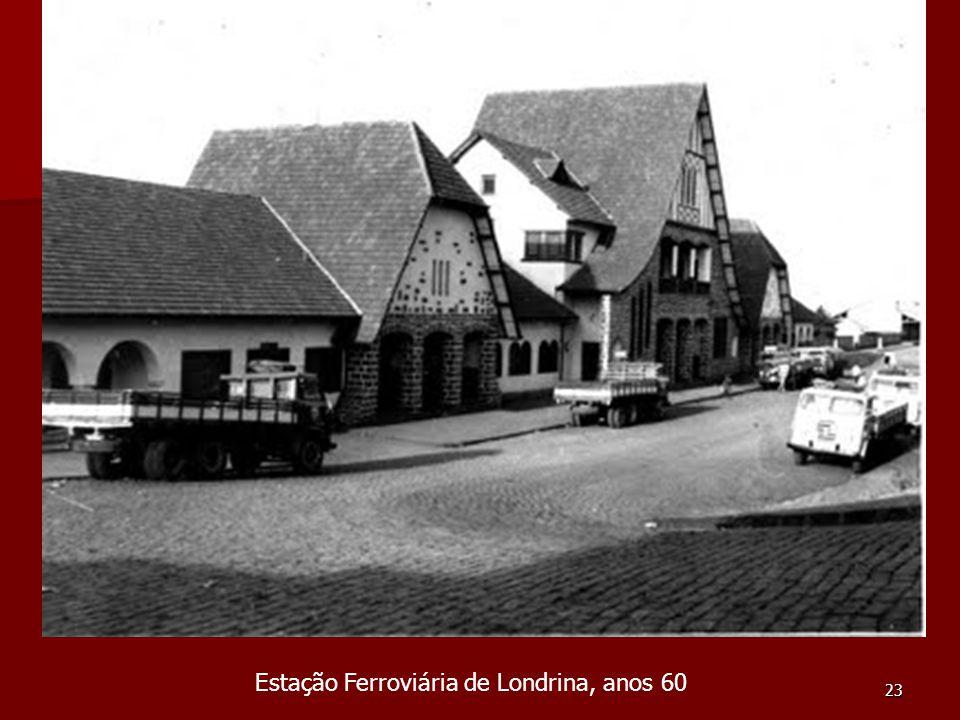 Estação Ferroviária de Londrina, anos 60