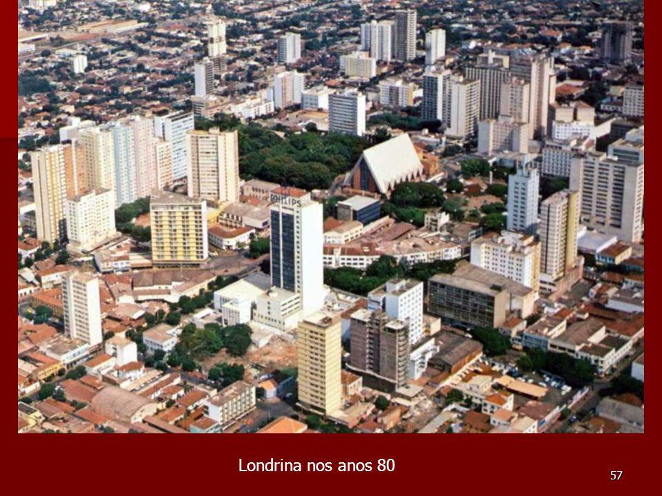 Londrina nos anos 80