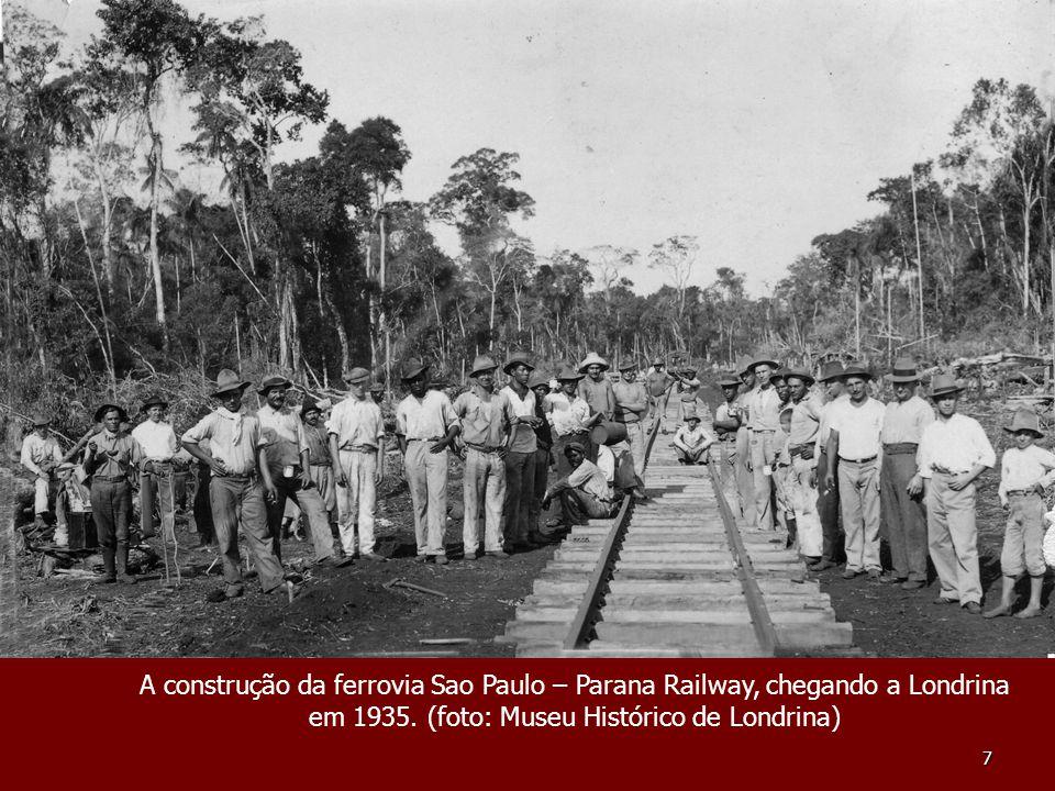em 1935. (foto: Museu Histórico de Londrina)