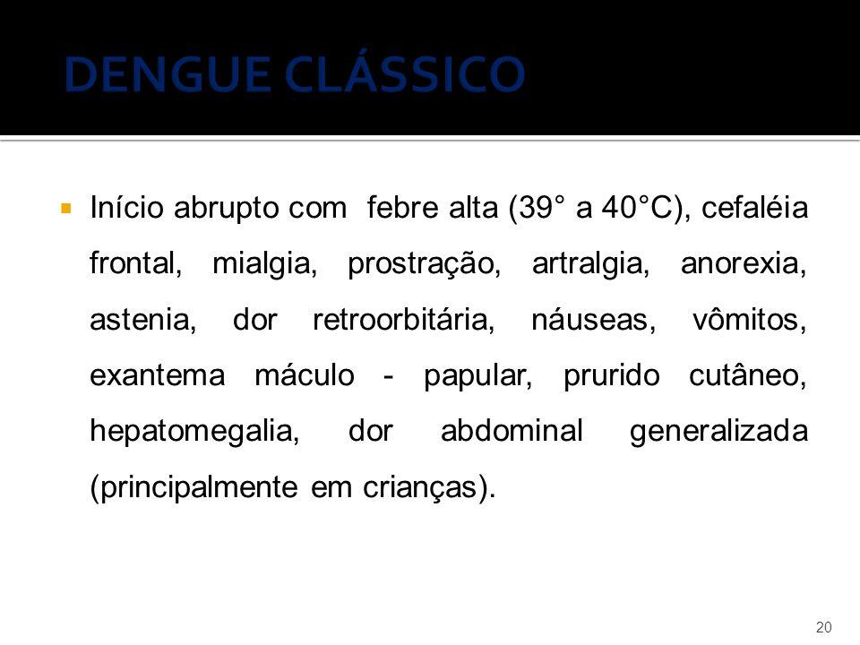 DENGUE CLÁSSICO