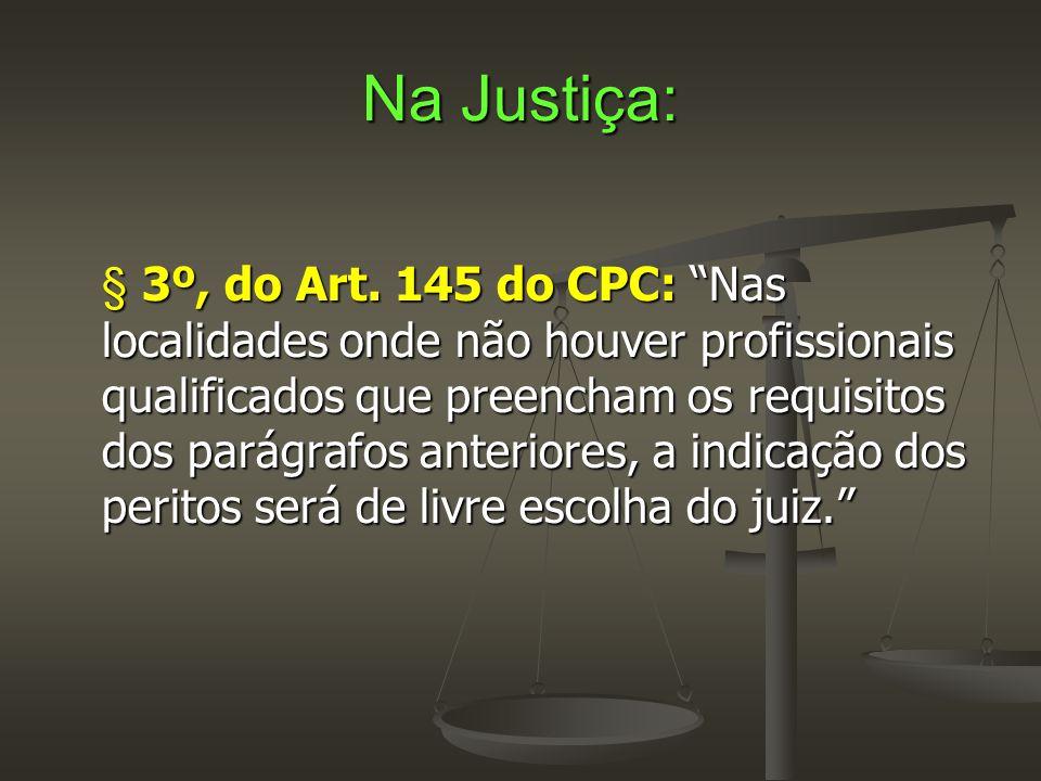 Na Justiça: