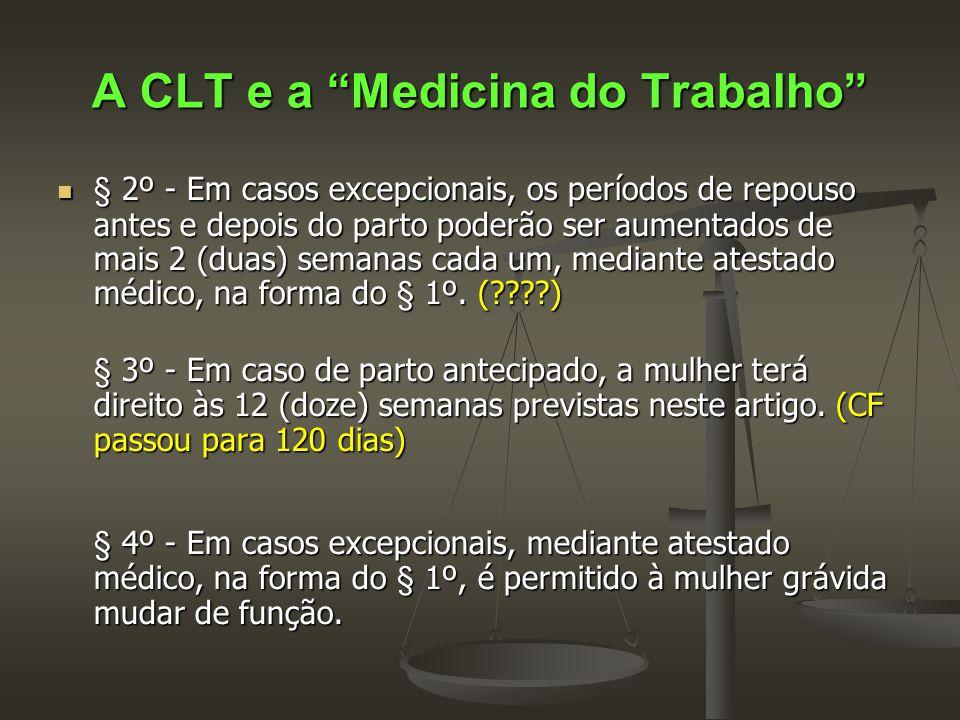 A CLT e a Medicina do Trabalho