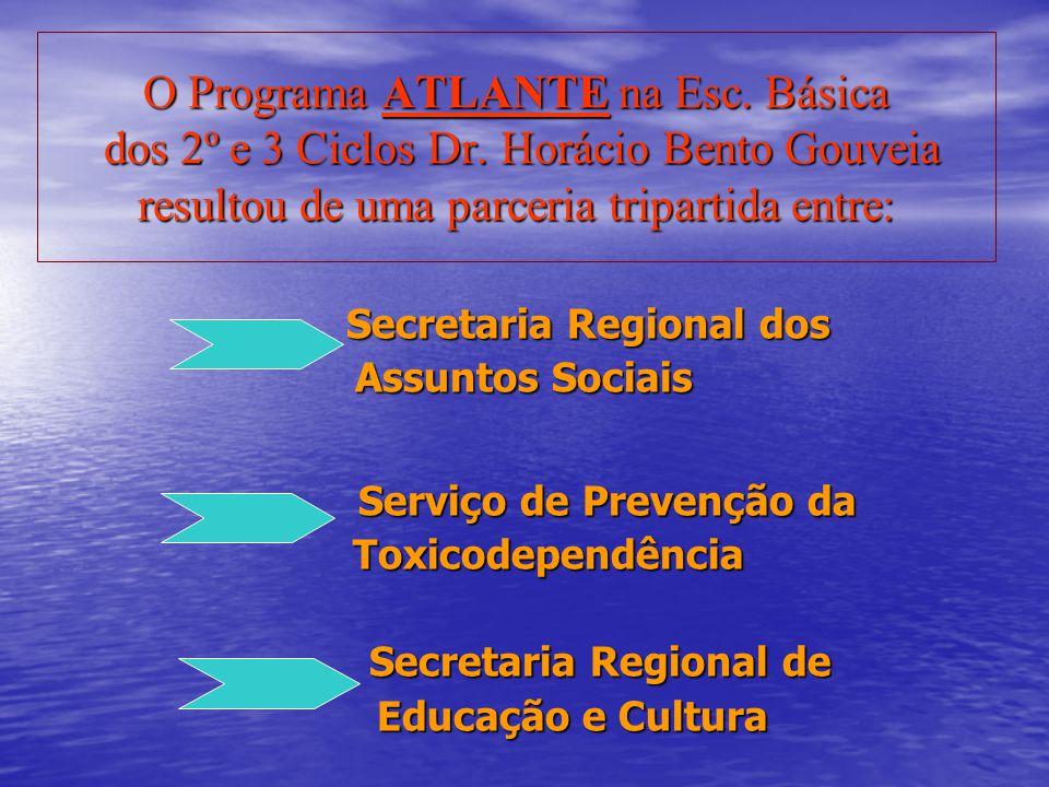 O Programa ATLANTE na Esc. Básica dos 2º e 3 Ciclos Dr