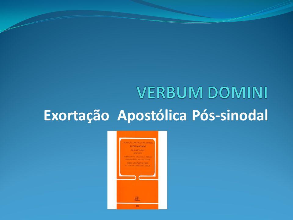 Exortação Apostólica Pós-sinodal
