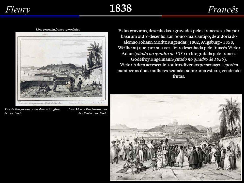 1838 Fleury Francês BRÉSIL BRASILIEN
