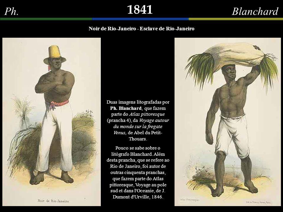 Noir de Rio-Janeiro - Esclave de Rio-Janeiro
