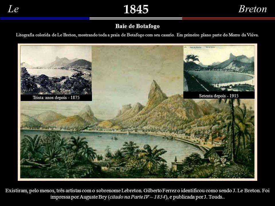 1845 Le Breton Baie de Botafogo